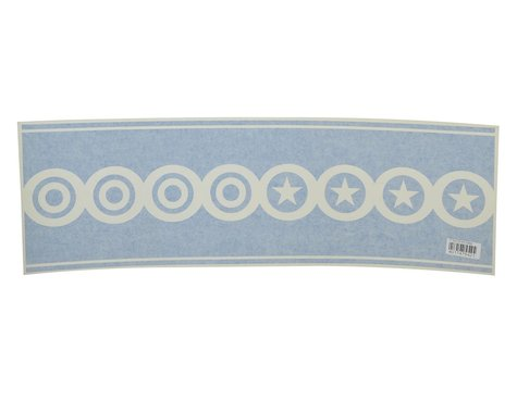 "Flite Test 26"" Decal Scallops (Blue)"