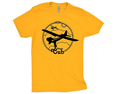 Flite Test Yellow Cub Tee (S)