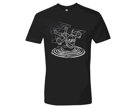 Flite Test Micro Gremlin Black T-Shirt (Silver) (Kids M)