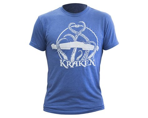 Flite Test Kraken Logo T-Shirt (Vintage Royal) (L)