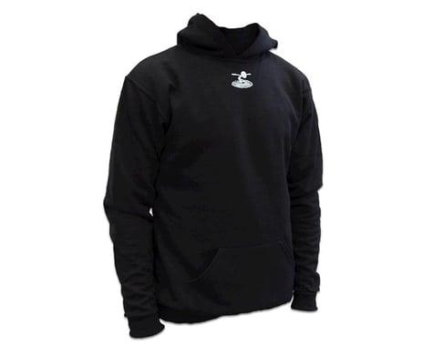 Flite Test Youth Pullover Black Hoodie (Kids M)