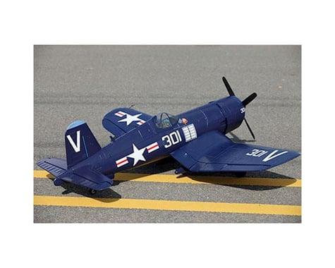 FMS F4U Corsair Plug-N-Play Electric Airplane (Blue) (1700mm)