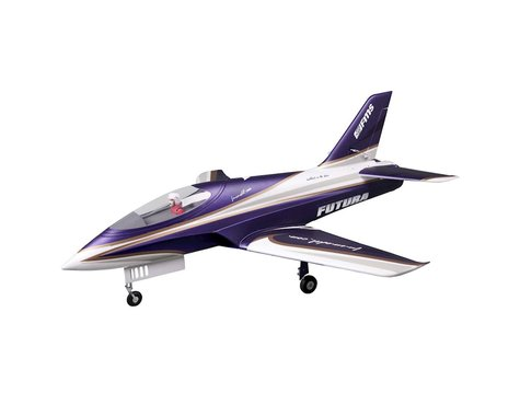 FMS Futura Plug-N-Play Electric Ducted Fan Jet Airplane (Purple) (1060mm)