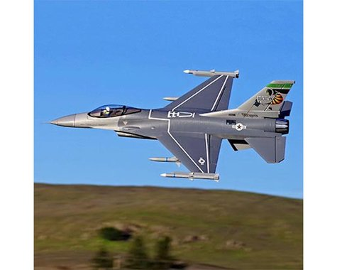 FMS F-16C Fighting Falcon 70mm Plug-N-Play Electric Ducted Fan Jet Airplane (813mm)