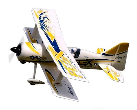 Flex Innovations Mamba 60E+ Super PNP Electric Airplane (Night Yellow) (1353mm)
