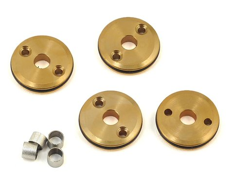 Flash Point 12mm Brass 1/10 Shock Piston (4) (2x1.5mm)