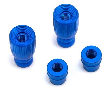 FrSky Pole Style 3D M4 Gimbal Stick End (Blue)