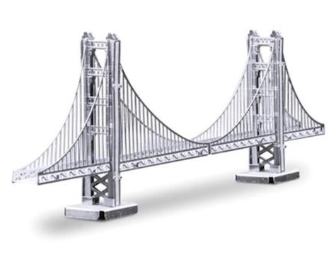 Fascinations mms001 Metal Works San Francisco Golden Gate Bridge 3D Laser Cut Models
