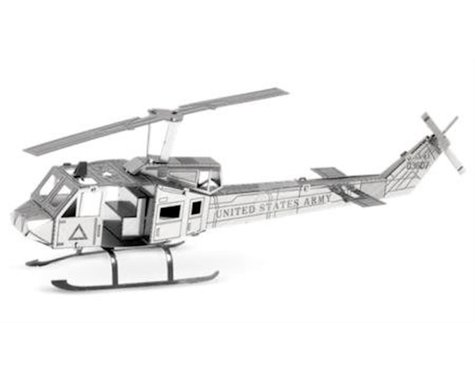 Fascinations Metal Earth 3D Metal Model - Huey UH-1 Helicopter
