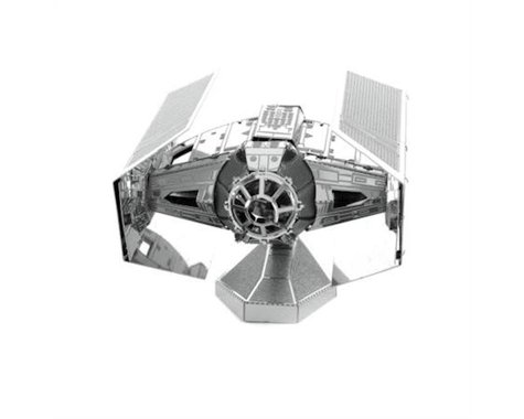 Fascinations MMS253 Metal Earth Star Wars Darth Vader's Tie Fighter 3D Laser Cut Model