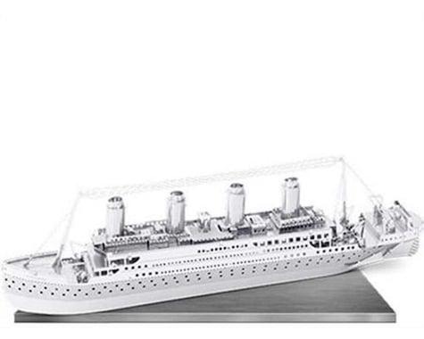 Fascinations MMS030 Metal Earth Marvels Titanic 3D Laser Cut Model