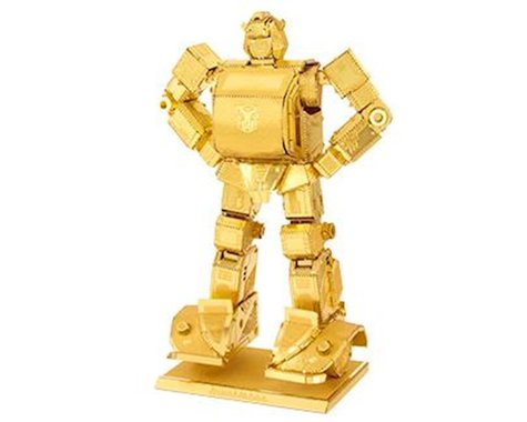 Fascinations Metal Earth Model Bumblebee in Gold (MMS301G)