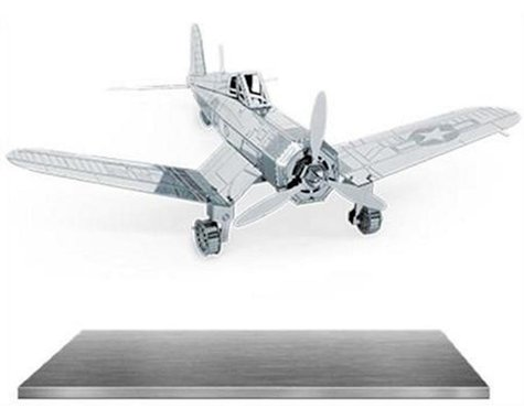Fascinations MMS035 Metal Works 3D F4U Corsair Laser Cut Model