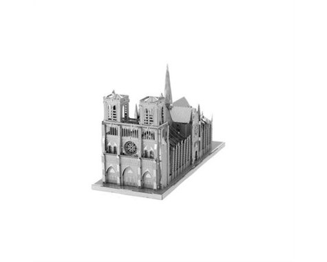 Fascinations ICONX Notre Dame (Two Sheets) 3D Model