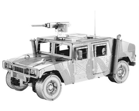 Fascinations ICX008 ICONX 3D Metal Earth Steel Model Kit Humvee