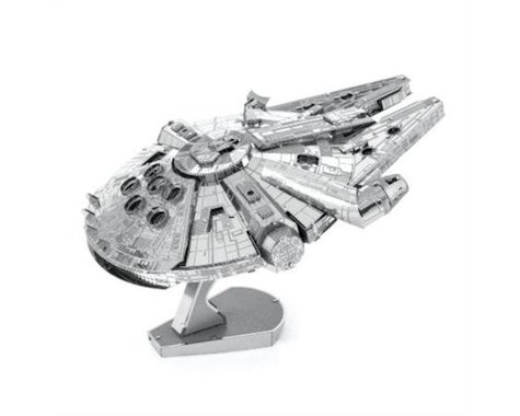 Fascinations Metal Earth ICONX Star Wars Millennium Falcon Premium Series 3D Metal Model Kit