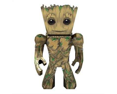 Fascinations Metal Earth Marvel 006 : Guardians of the Galaxy Groot 3D Metal Model Kit