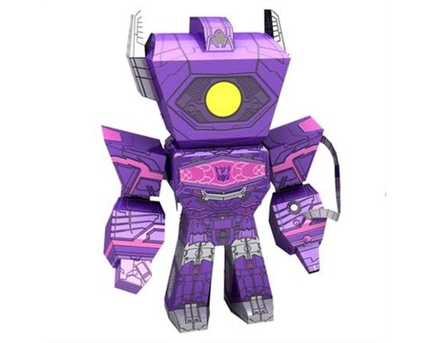 Fascinations Legends Transformers Shockwave