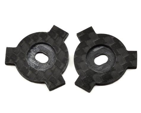 Factory RC Avid/Schelle Carbon Fiber Slipper LockOut Plate Set (2)