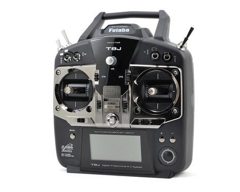 Futaba 8J 2.4GHz S FHSS 8 Channel Radio System (Airplane)