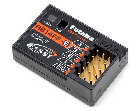 Futaba R614FF-E FASST 4-Channel 2.4Ghz Receiver