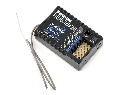 Futaba R2104GF S-FHSS High Voltage 4-Channel 2.4Ghz Receiver