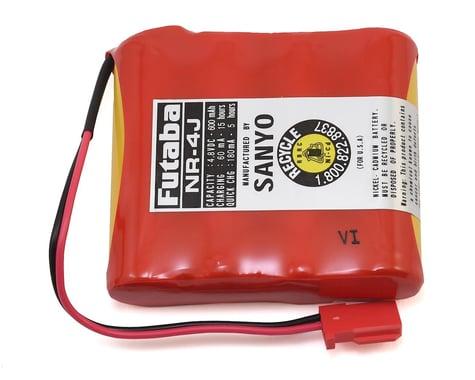 Futaba NR4J Flat NiCd 4-Cell Receiver Battery Pack (4.8V/600mAh)