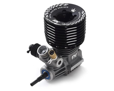 FX Engines K501 DLC .21 5-Port Off-Road Buggy Engine w/Ceramic Bearing (Turbo)