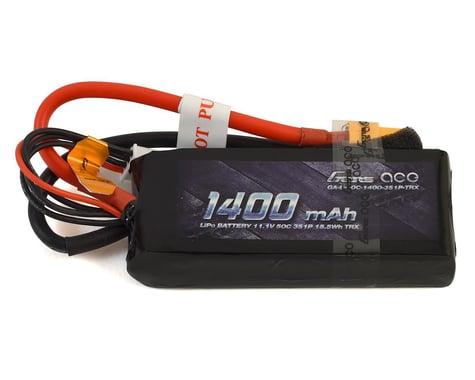 Gens Ace 3S Soft 50C LiPo Battery Pack w/XT60 Connector (11.1V/1400mAh)