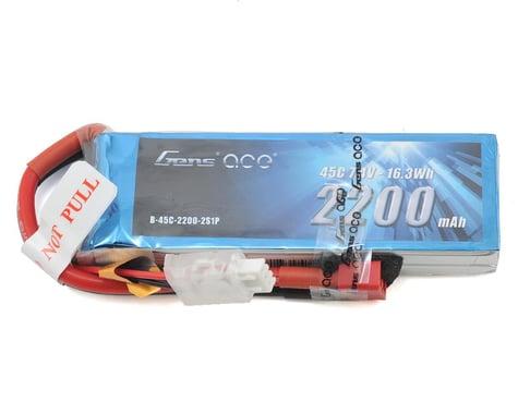 Gens Ace 2s LiPo Receiver Battery 45C (7.4V/2200mAh)