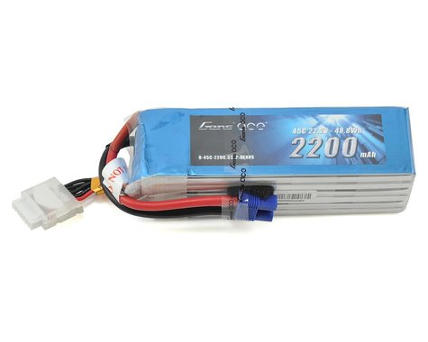 Gens Ace 6s LiPo Battery 45C (22.2V/2200mAh)