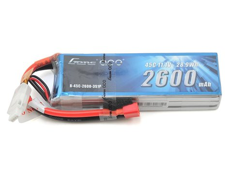 Gens Ace 3s LiPo Battery 45C  (11.1V/2600mAh)