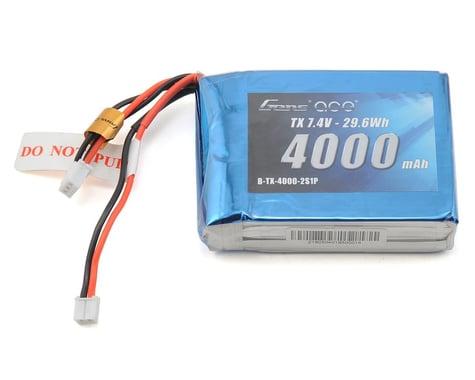 Gens Ace 2S LiPo Transmitter Battery (7.4V/4000mAh) (DX7, DX7S, DX8 & DX9)