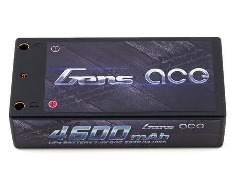 Gens Ace 2s LiPo Battery Pack 60C w/4mm Bullets (7.4V/4600mAh)