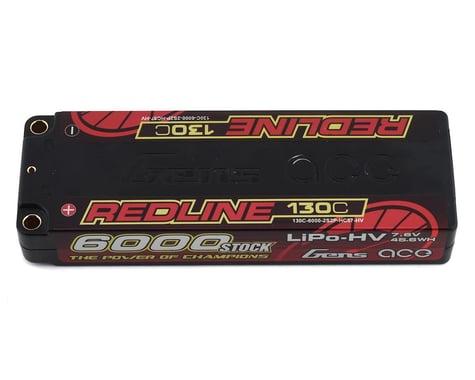 Gens Ace Redline 2S LiHV LiPo Battery 130C w/5mm Bullets (7.4V/6000mAh)