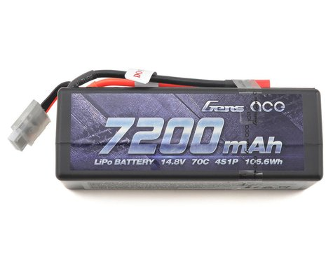 Gens Ace 4s LiPo Battery Pack 70C w/Deans Connector (14.8V/7200mAh)