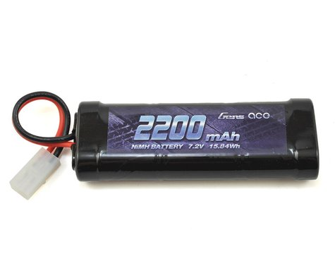 Gens Ace 6-Cell 7.2V NiMH Battery Pack w/Tamiya Connector (2200mAh)