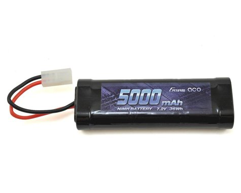 Gens Ace 6-Cell 7.2V NiMH Battery Pack w/Tamiya Connector (5000mAh)