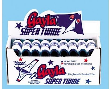 Gayla Industries  200' White Super Twine