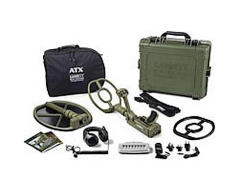 Garrett Metal Detectors ATX Deepseeker Package w/ DD Open Searchcoil