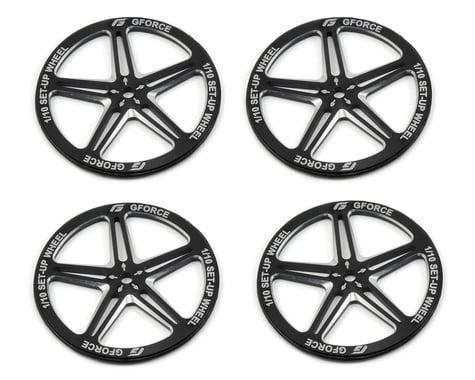 GForce 1/10 Setup Wheel (Black)