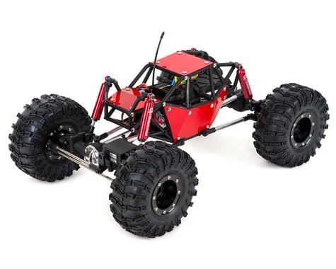 Gmade R1 1/10 RTR Rock Crawler Buggy w/2.4GHz Radio (Red)