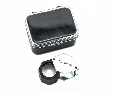 """GMK Supply """"Up Close"""" 10X Magnifying Glass Reading Loupe"""