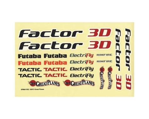 Decals: Factor 3D EP ARF