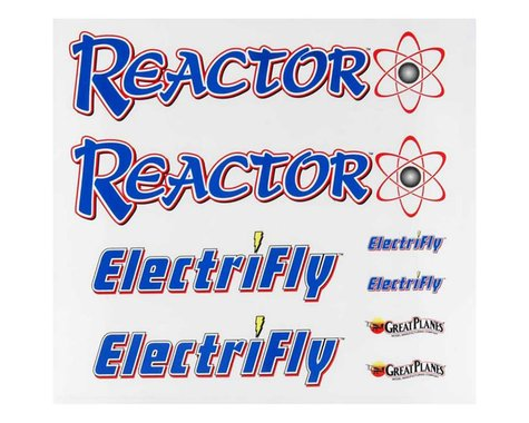 Great Planes Decal Sheet Reactor 3D EP