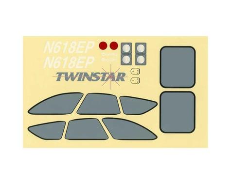 Great Planes Decal Set Twinstar EP ARF