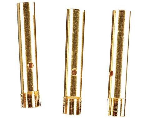 Great Planes Gold Plated Bullet Conn Female 2mm (3)