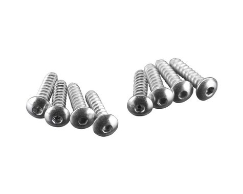 Great Planes Button Head Sheet Metal Screws 2x3/8  (8)