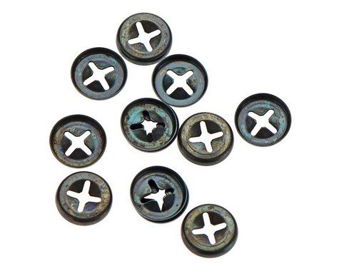 Great Planes Metal Retainers (12)