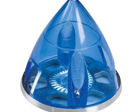 """E-Spinner 1-1 2"""" Blue w Aluminum Backplate"""
